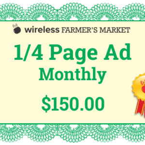 14 page ad monthly